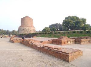 Dhamekh Stupa, Sarnath, Varanasi, India