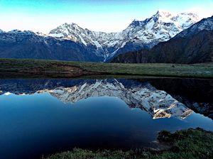 Heaven on Earth .. Perfect reflection of Mighty Choukhamba