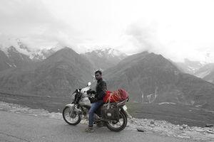 When I took life for a ride. LEH-LADAKH solo trip