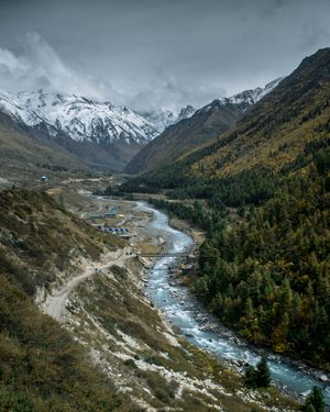 Kinnaur in Autumn