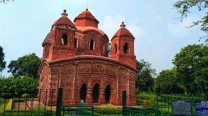 SHYAMRAI TEMPLE,BISHNUPUR. #onedaytripatbishnupur #Historical place.