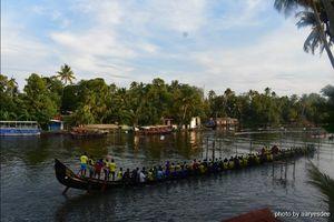 Nehru Boat Race - Rehearsal