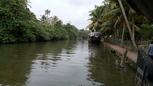 journey in a house boat through the backwaters of Kerala