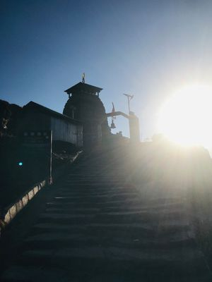 Sunset view at Tungnath Temple
