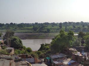 Glimpse of river TAPI and it landscape from Burhanpur madhya pradesh