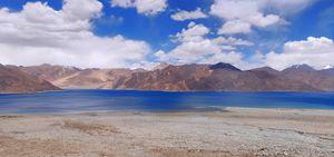 Amazing View Of Bliss - Pangong Lake
