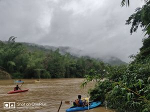 Serene nature of Western ghats