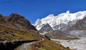 Towards Gandhi Sarovar/Chorabari Glacier.