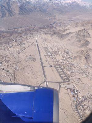 Amazing Ariel View Of Leh Airport