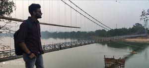 The hanging bridge,dhabakeswar