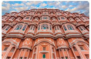 Pink City Jaipur. It is also called the east of Paris of india