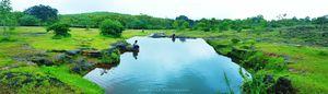 Pool on a hill _gokarna