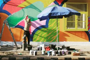 Lodi Art District - Where walls become canvas