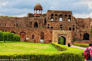 inside view of purana qila