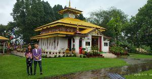 Buddhist temple, itangar,arunachal pradesh