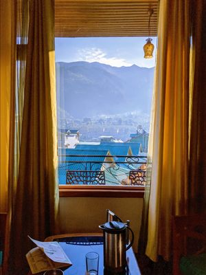 Room view In Manali !