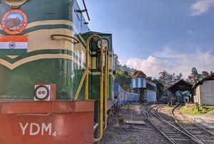 Thomas and Friends - UNESCO world heritage site , Niligiri Railways!!