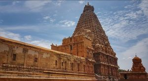 A day at the Great  Living Chola Temple or the Brihadeeswara Temple an UNESCO World Heritage site.