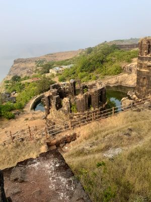 Raigad fort by Rope way...