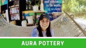 EXPLORING ART AT THE AURA POTTERY! | LITERALLY NEHA