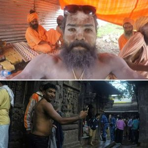 "Kumbh Mela, Nasik 2015 : The search for a ""Real Sadhu"""