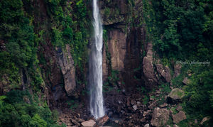 Nohsngithiang Falls 1/undefined by Tripoto