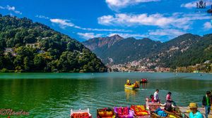 SOLO Bike Ride To Nainital - Small City in lap Of Himalayan Range Mountain.