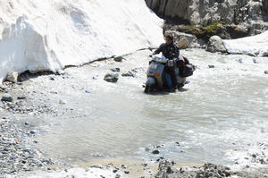 Scootering In Ladakh 2012