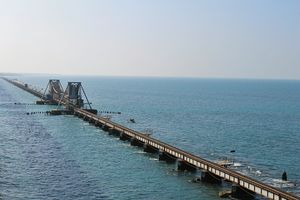 Pamban – The most dangerous sea bridge in India