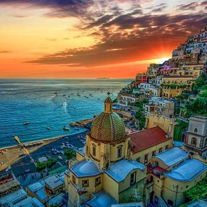 Positano- A town frozen in time
