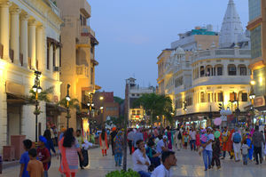There is heart - soul - magic and of course loads of stuff to shop - HALL BAZAAR at Amritsar