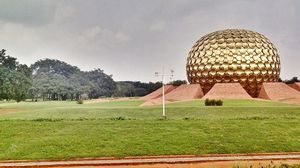 Solo tripping in Auroville