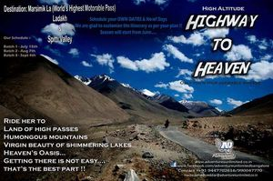 Highway to Heaven-Roadtrip on Himalayan Highest Passes in Ladakh region and Spitti Valley !!