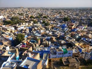 Jodhpur - The Blue 'Quilt'