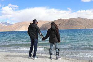 #leh #ladakh #biketrip #pangongLake #incredibleIndia @tripotocommunity
