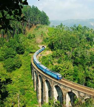 Nine Arch Bridge, Ella, Srilanka