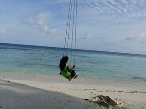 Bestest trip with roughest sea experience @ Maldives