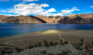 Postcards from Pangong Tso