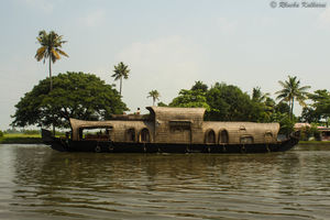 A day on the houseboat at Alleppey, Kerala