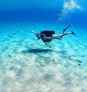 Discover scuba diving in Mykonos, Greece