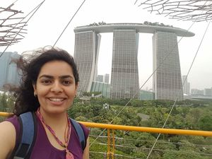 #SelfieWithAView #SoloTravel #Singapore #TripotoCommunity
