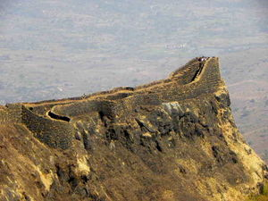 Torna - Rajgad Joining Hill 1/undefined by Tripoto