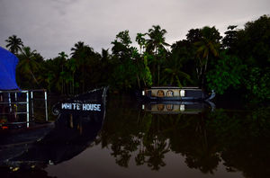 Kerala backwaters at night - A photolog