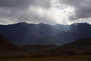 Western Ladakh in Early Winter - Lazing around Likir