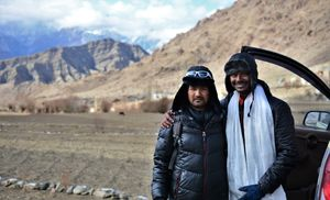 Warmth hospitality of Ladakhi people in a cold winter!