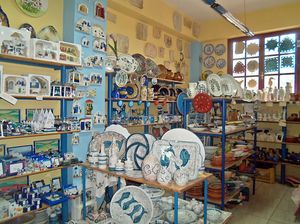 The Ceramic Art of Chios island, Greece!
