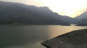 Oman- Desert Dam-Wadi Ad Dayqah