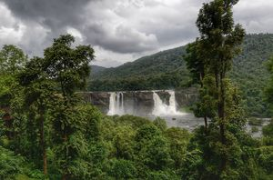 Athirappilly Falls - and much more in God's own 'green' country !