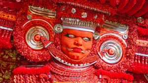 When I witnessed a dancing deity: Theyyam 2019 !