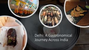 Delhi: A gastronomical Journey Across India #foodtrail